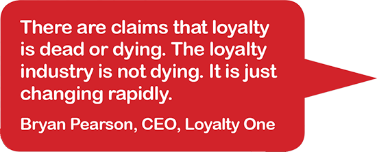 Bryan Pearson CEO Loyalty One